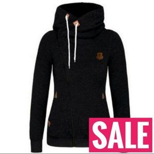 SALE  Black anchor nautical jacket